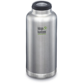 Klean Kanteen TKWide Bottle with Stainless Steel 1900ml Vacuum Insulated brushed stainless